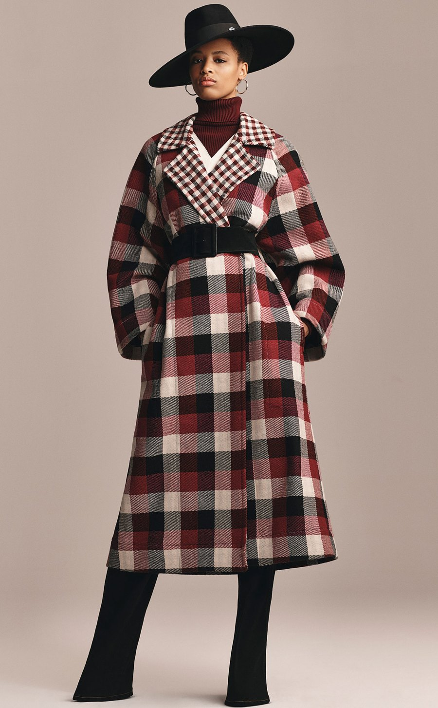 Zendaya x Tommy Hilfiger Collection - Zendaya Check Coat