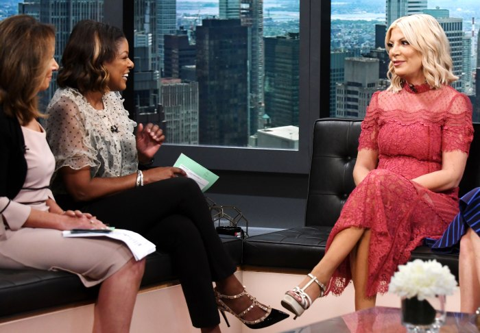 Tori Spelling Shuts Down Rosanna Scotto Over Finance Questions