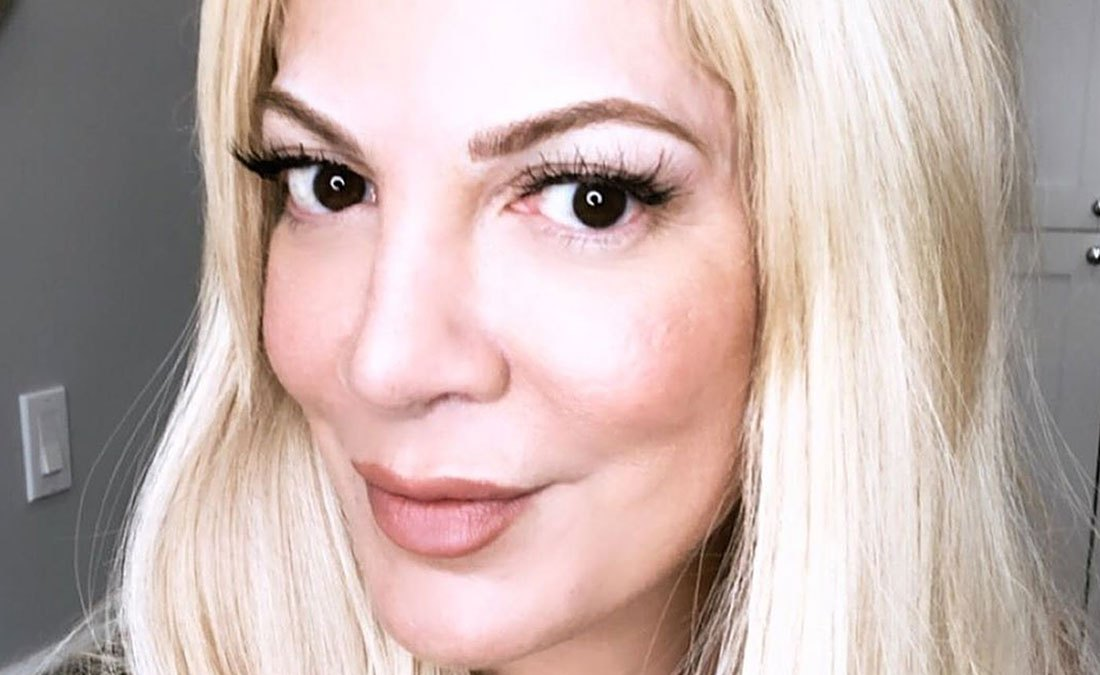 Tori Spelling Is Obsessed With Her Microbladed Brows — 'Who Knew Brows Could Boost Self-Confidence'