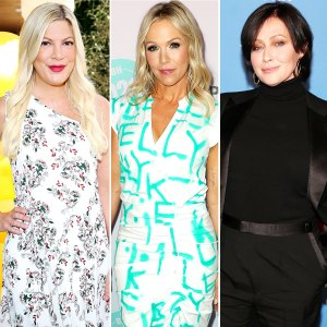 Tori Spelling Shaking When Jennie Garth Shannen Doherty Went At It