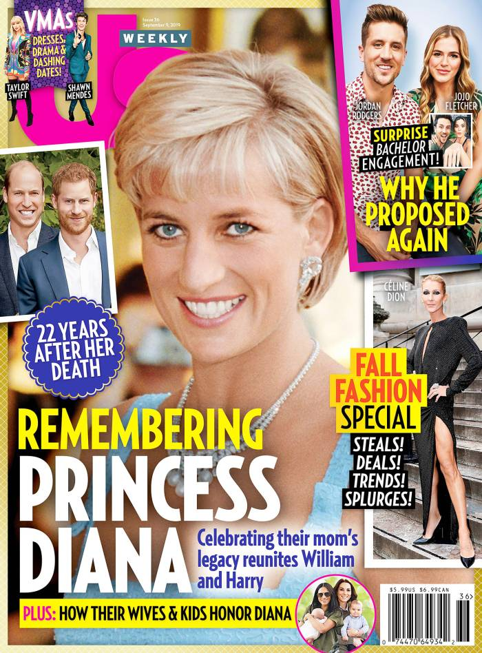 Us Weekly Issue 3619 Cover Remembering Princess Diana