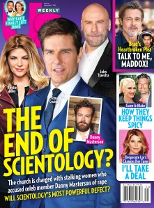 Us Weekly Cover Issue 3519 Scientology