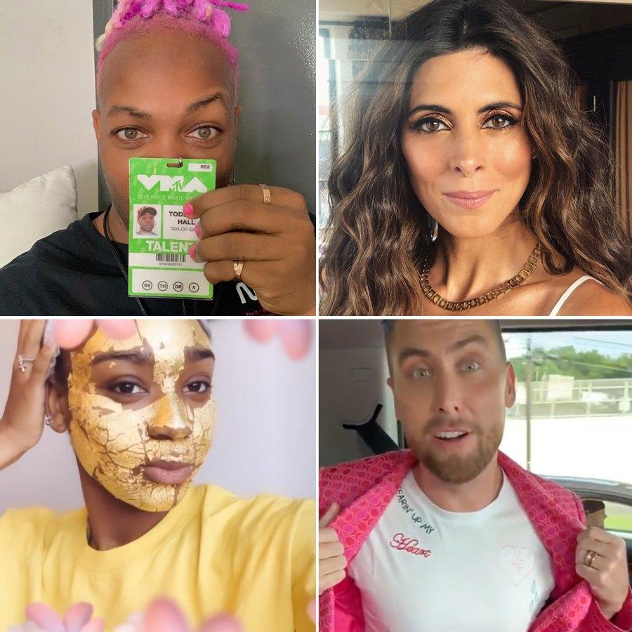 VMAs-stars-getting-ready
