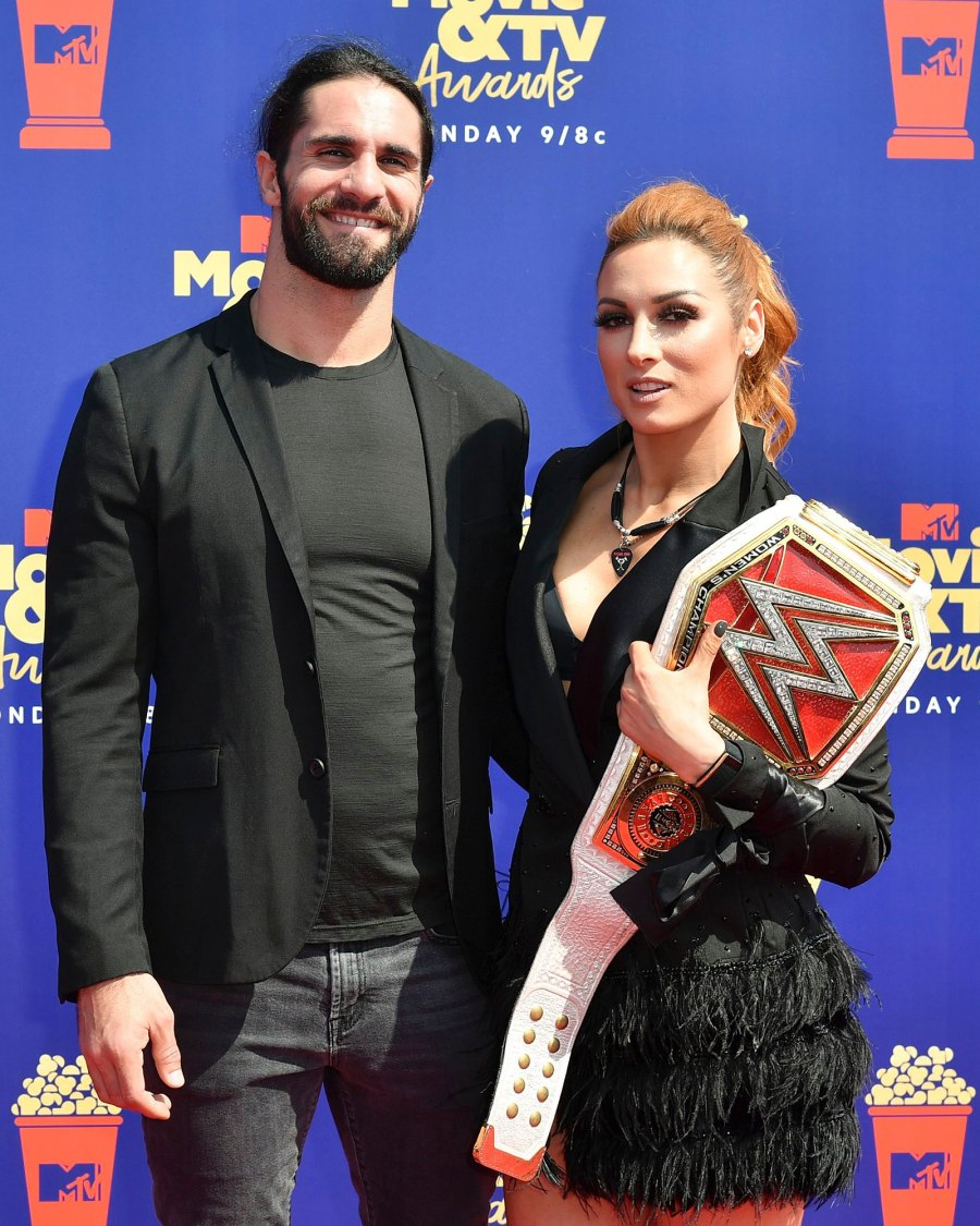 WWE Seth Rollins and Becky Lynch Engaged