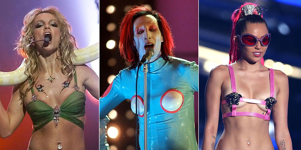 Wildest MTV VMA Performance Ensembles of All Time