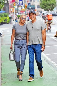 Yolanda Hadid Holds Hands With Mystery Man 1 Month After Ex David Foster's Wedding