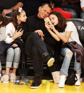 Arod Admits He Made Burner Instagram Account to Follow Daughters Natasha and Ella