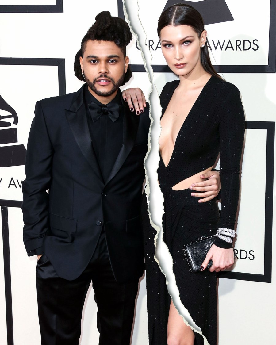 celebrity spilts Bella Hadid and The Weeknd