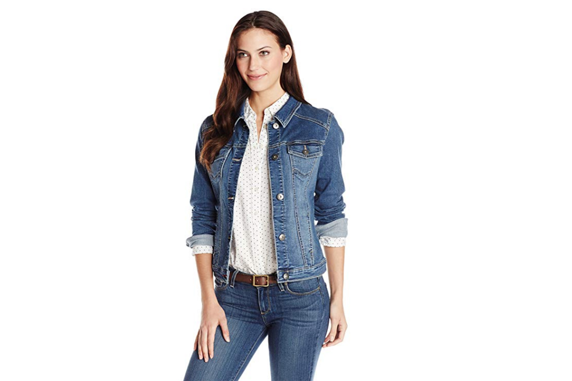 916c4b8f4faac This Bestselling Jean Jacket on Amazon Will Become Your Wardrobe MVP