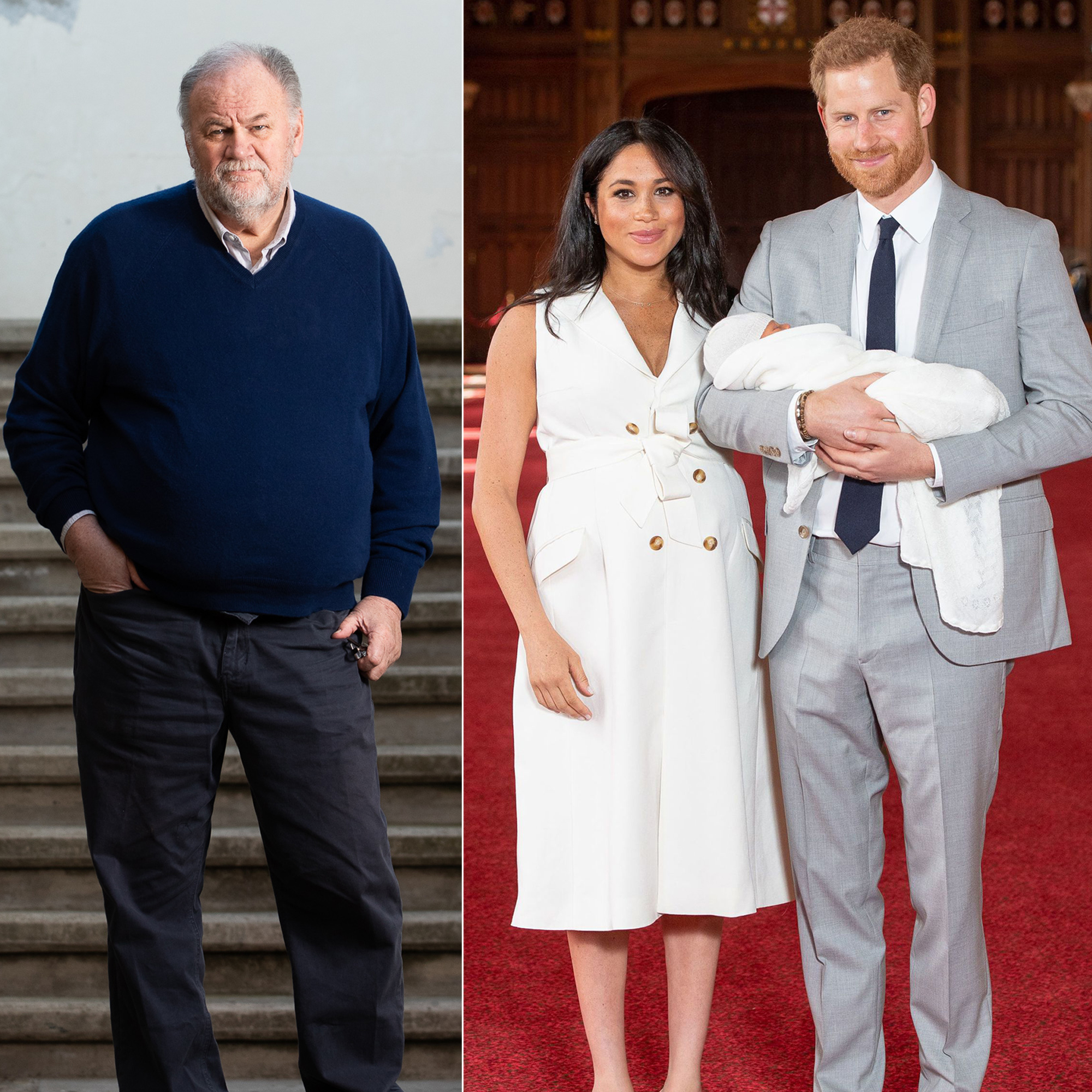 Duchess Meghan's Estranged Father Says He Wants To Make Up