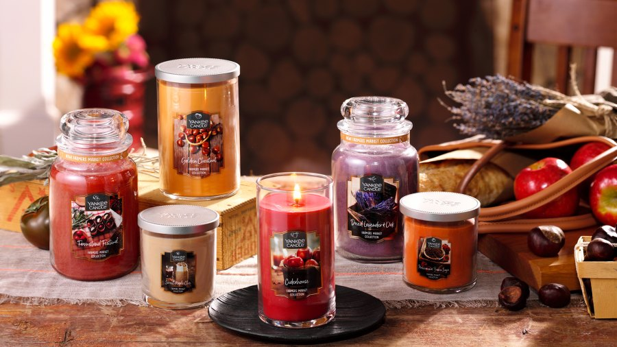 farmers market candles