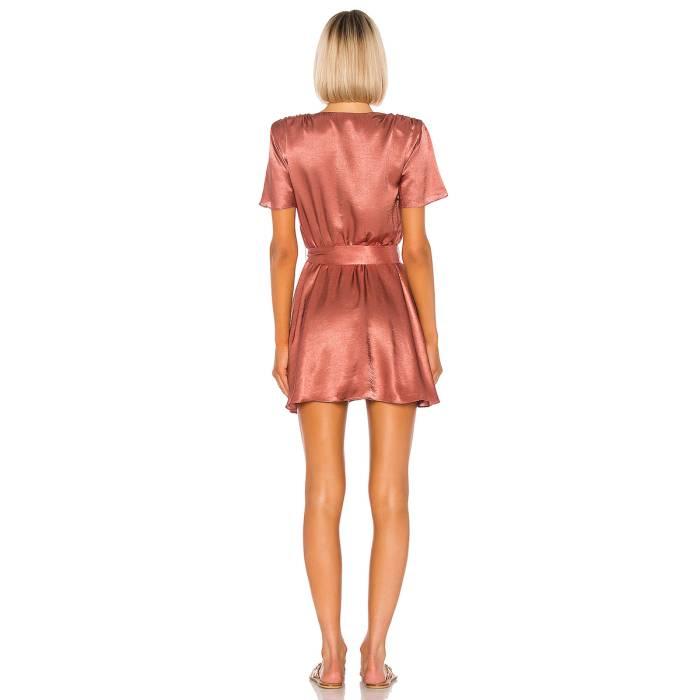 silky dress back