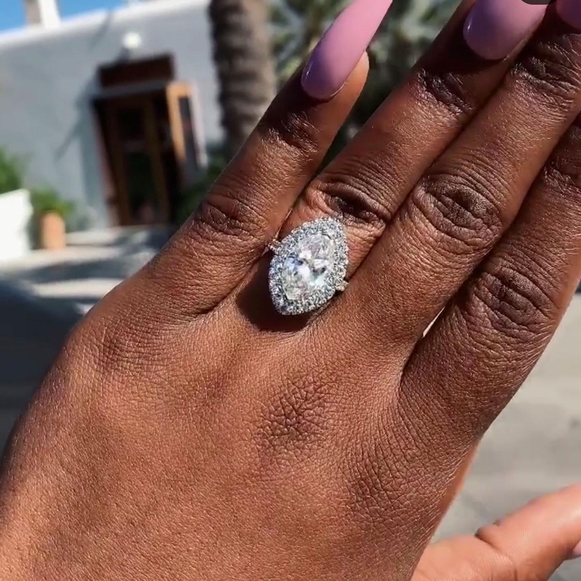 2eec69b7daef4 Best Celebrity Engagement Rings of 2019