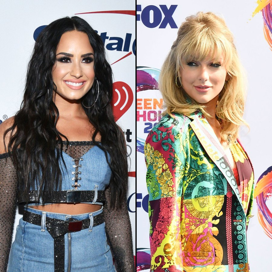 Demi Lovato Praises Lover Leaving Taylor Swift With the Biggest Smile.jpg