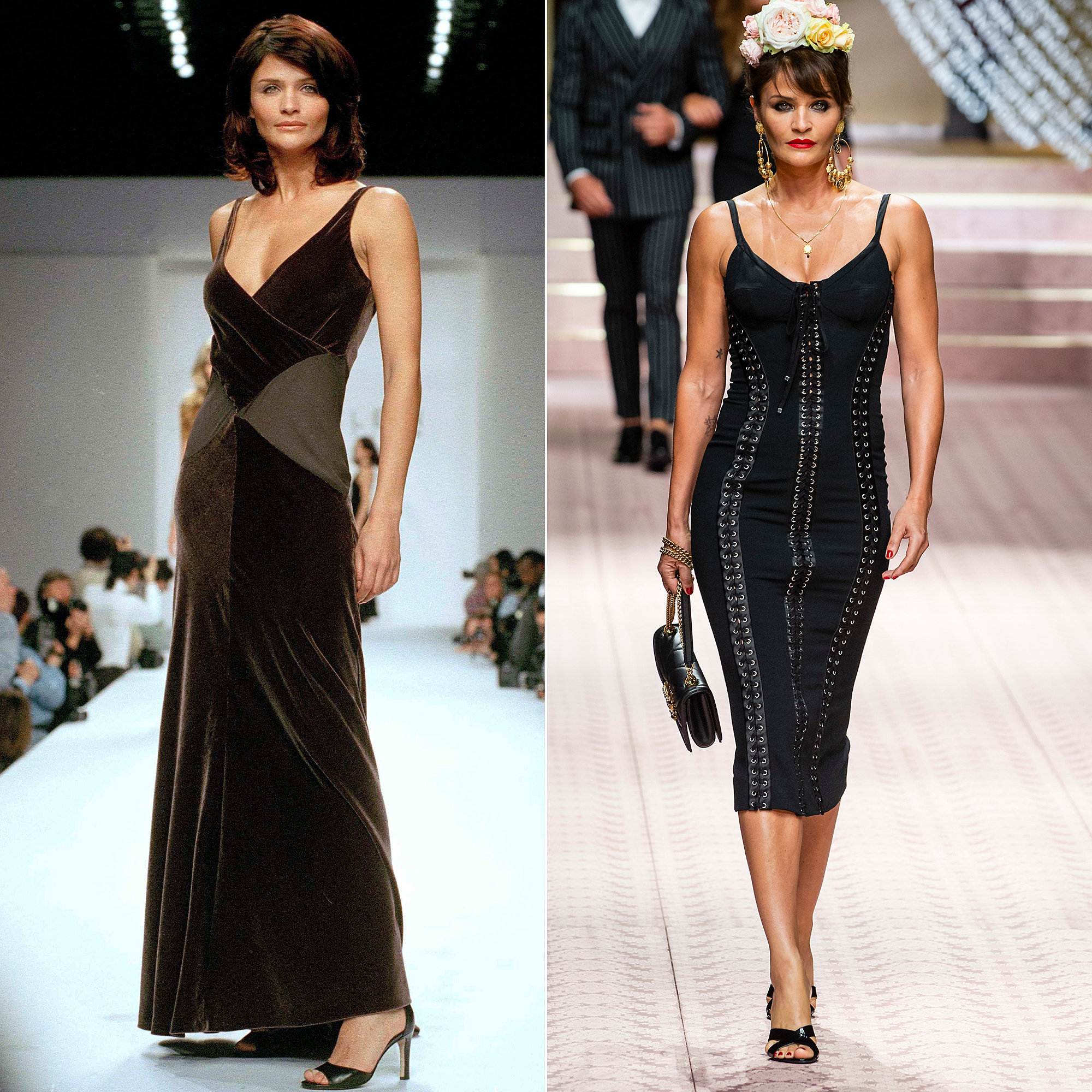 90s Supermodels On The Runway Then And Now Pics