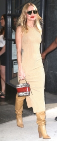 Kate Bosworth Tan Dress September 11, 2019