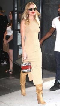 Kate Bosworth Tan Dress September 11, 2019