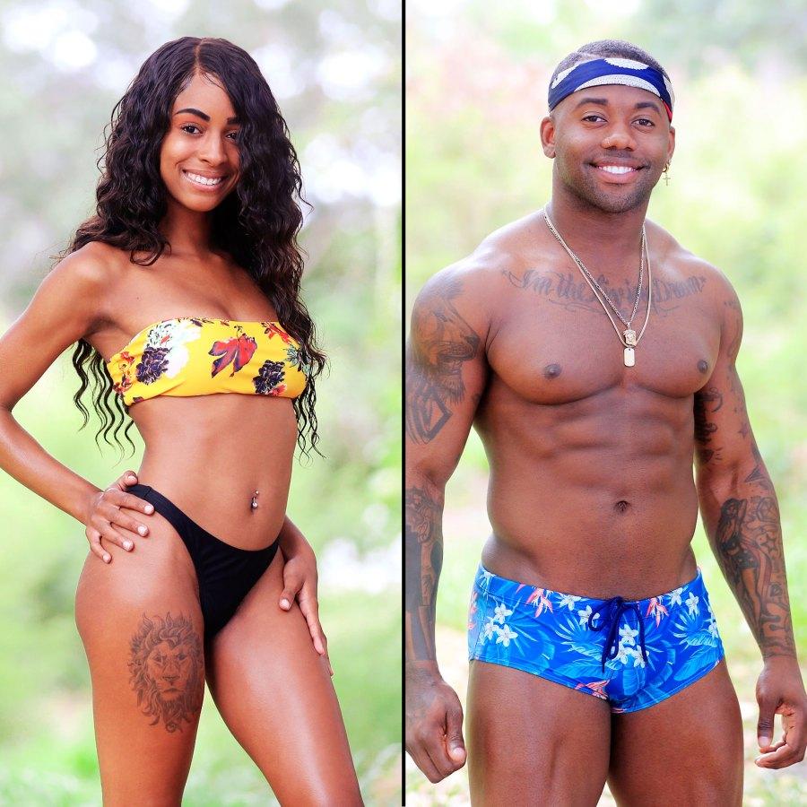Aasha Wells and Brandon Davis MTV Are You The One Season 8