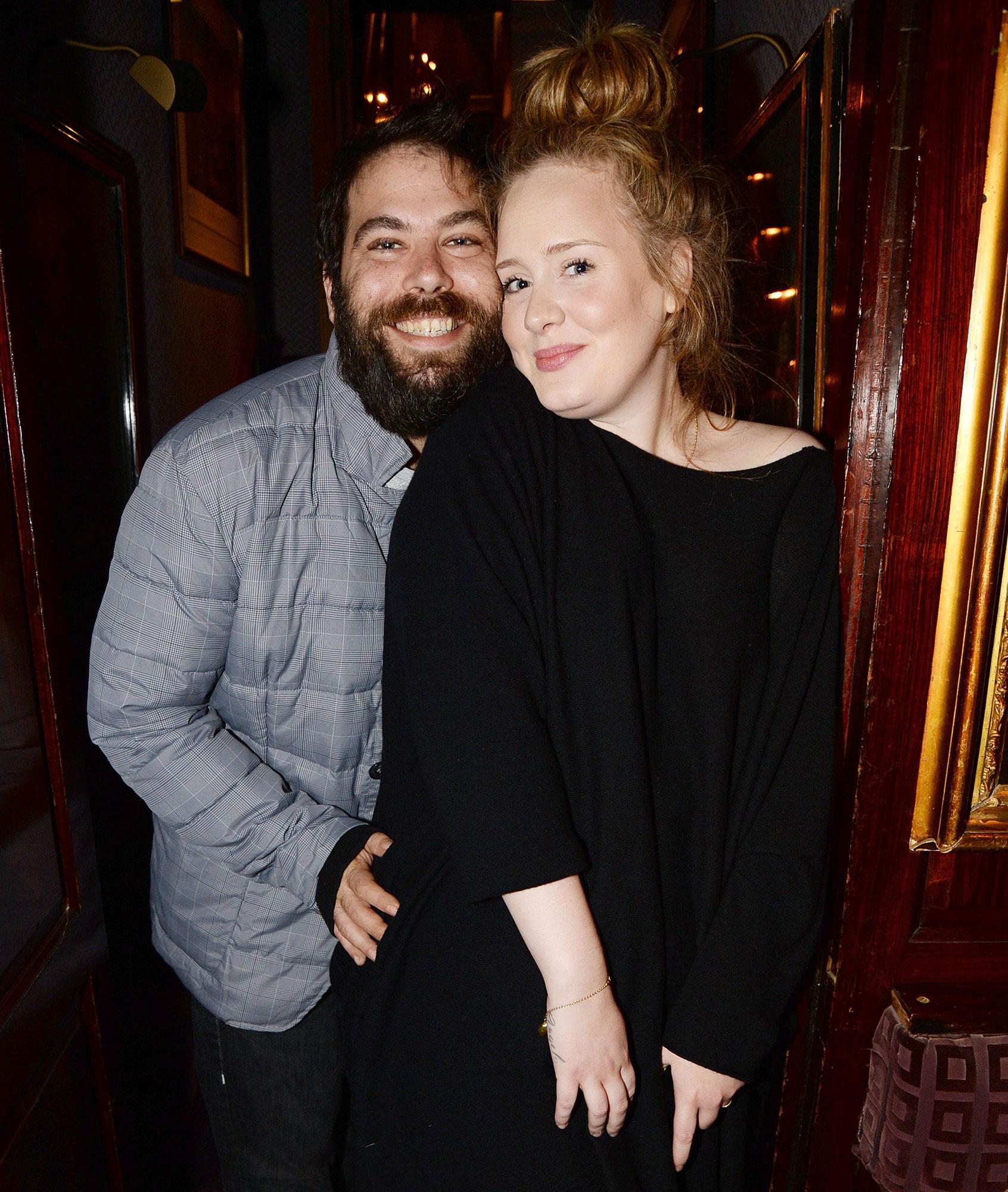 Adele and Simon Konecki in 2013 Files For Divorce