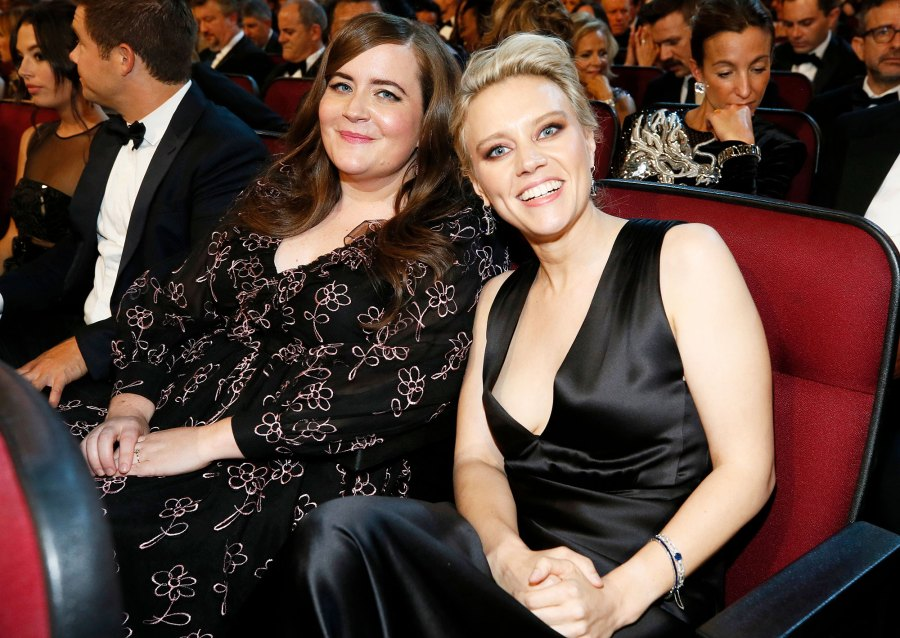 Aidy Bryant and Kate McKinnon Inside Emmys 2019
