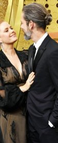 Amy Adams and Darren Le Gallo Emmys 2019 Celebrity PDA