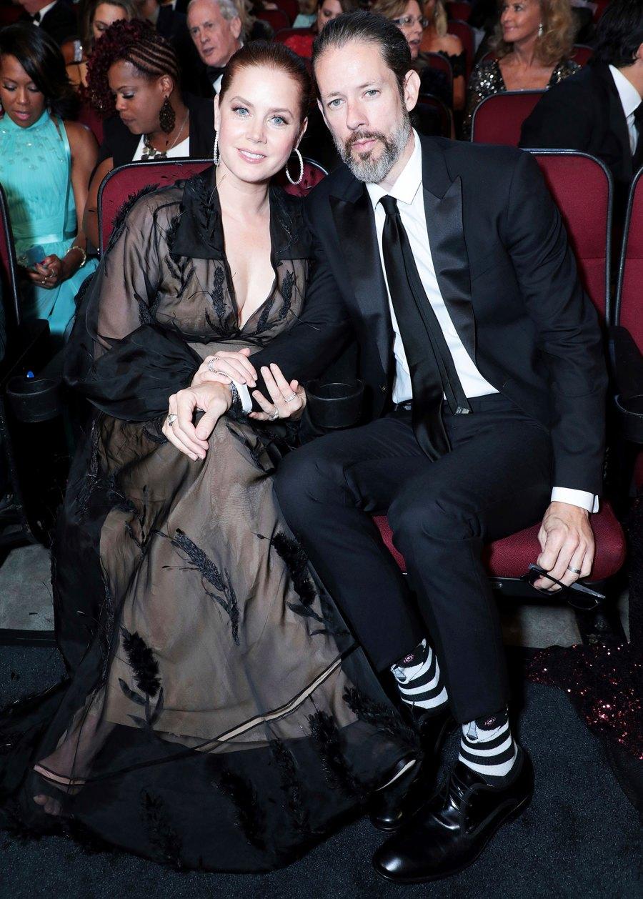 Amy Adams and Darren Le Gallo Inside Emmys 2019