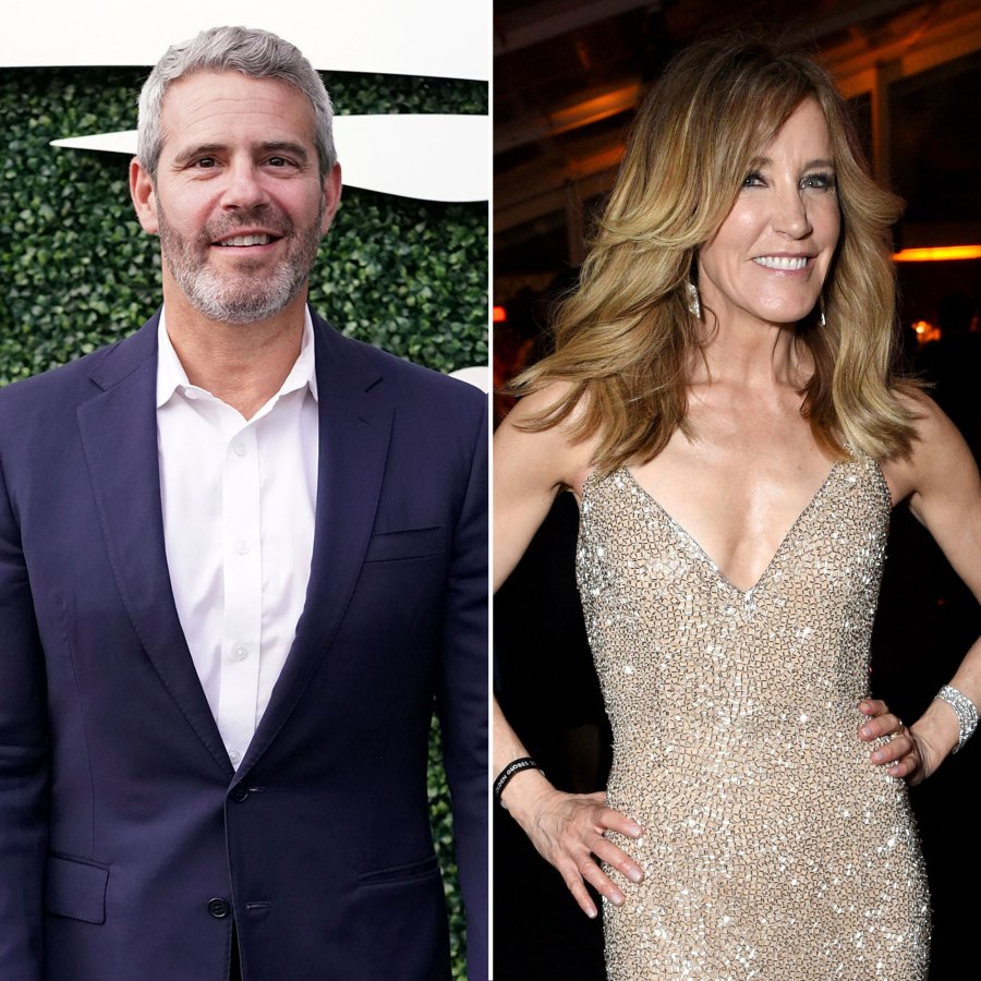 Andy Cohen Believes Felicity Huffman Will Make a Career Comeback After College Scandal But Not RHOBH