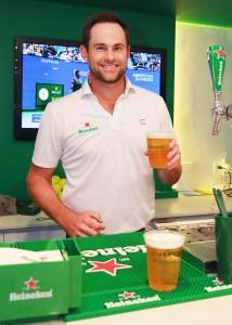 Andy Roddick Heineken Event