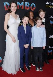 Angelina Jolie Talks Kids Fame Exposure