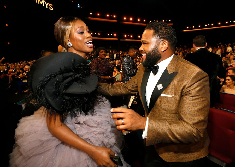 Anthony Anderson, Laverne Cox What You Didn't See on TV Gallery Emmys 2019