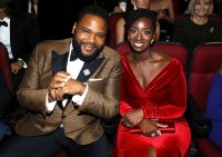 Anthony Anderson and Alvina Stewart Inside Emmys 2019