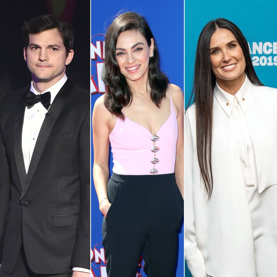 Ashton Kutcher Declares His Love for Mila Kunis After Ex-Wife Demi Moore's Book Revelations
