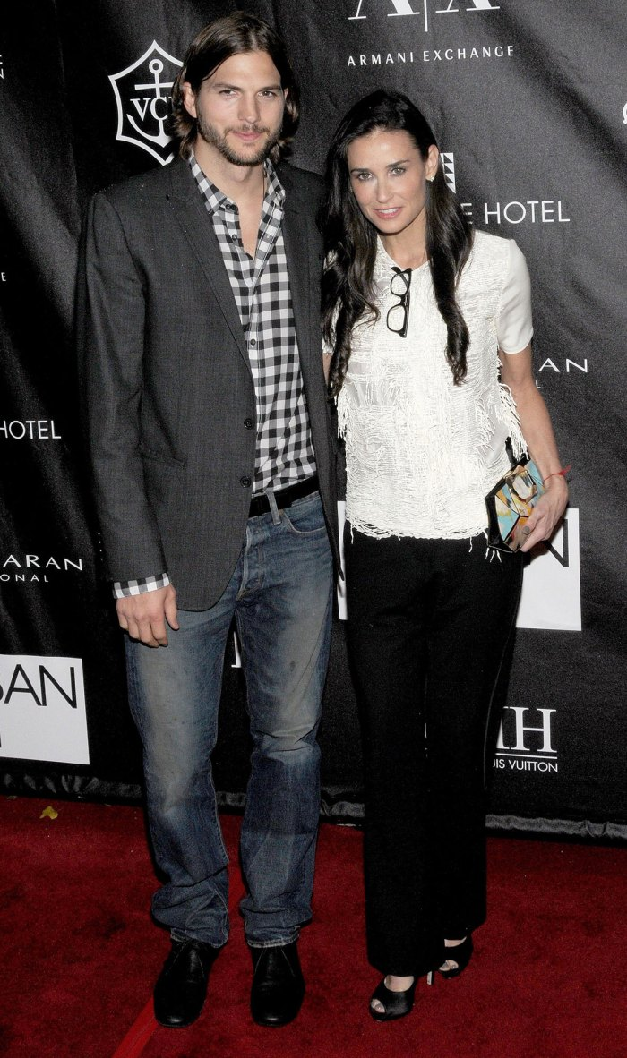 Ashton Kutcher and Demi Moore Apple Awards