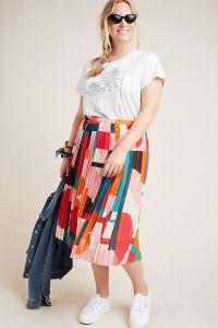 Aurelia A-Line Midi Skirt