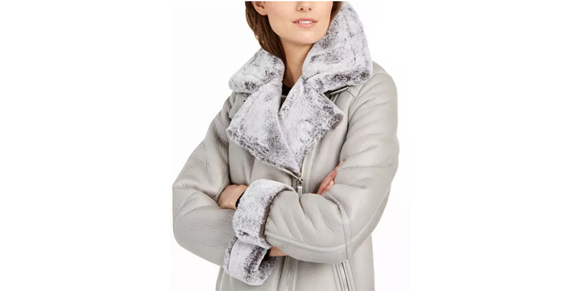 BCBGeneration-Faux-Fur-Silver