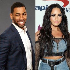 Bachelorette's Mike Johnson Likes Demi Lovato Bikini Pic Amid Dating Rumors