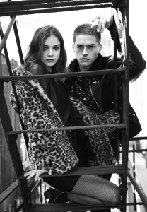 Barbara Palvin and Dylan Sprouse The Kooples