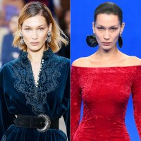 Bella Hadid Hair Change Blonde to Brunette Again