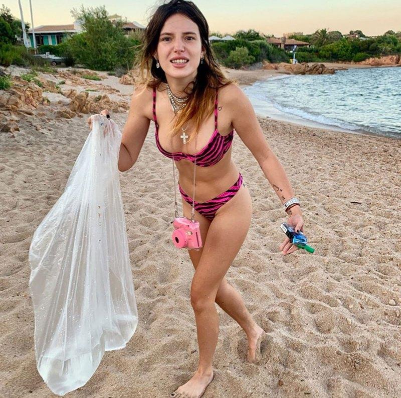 Teen topless beach Celebrities Who