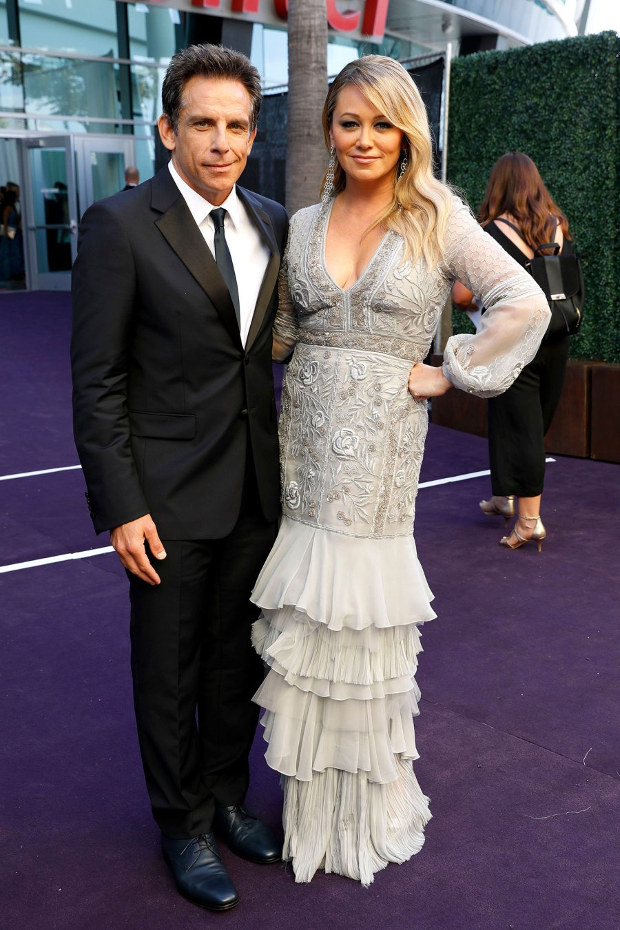 Ben Stiller and Christine Taylor What You Didn't See on TV Gallery Emmys 2019