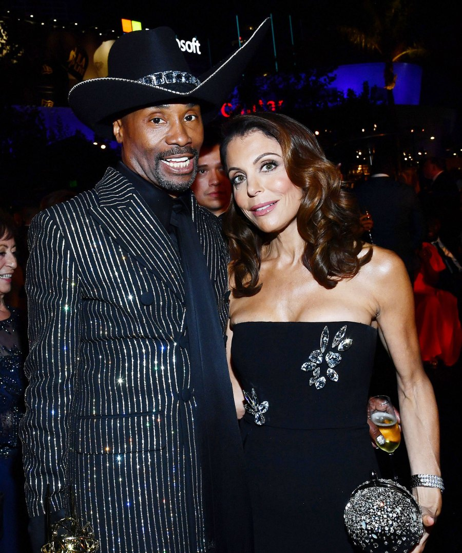 Billy Porter and Bethenny Frankel Governors Ball Emmys 2019 After Party