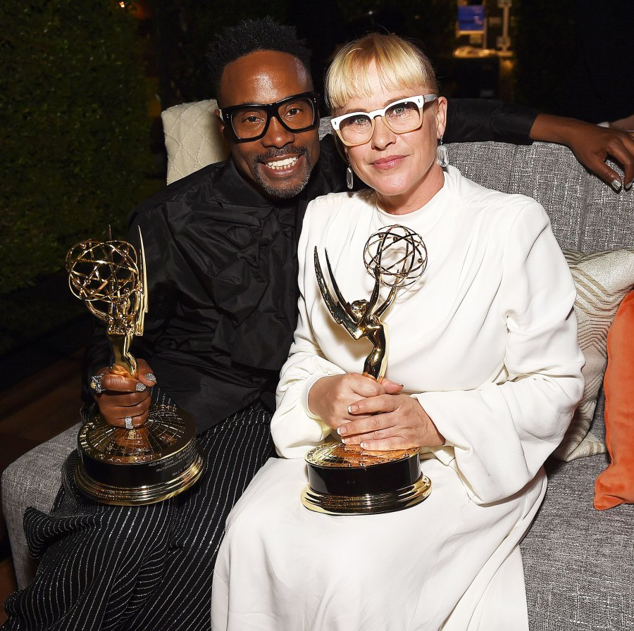 Billy Porter, Patricia Arquette Walt Disney Emmys 2019 After Party