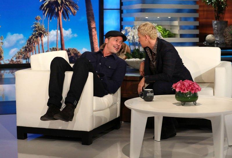 Resultado de imagen para Brad Pitt y Ellen DeGeneres