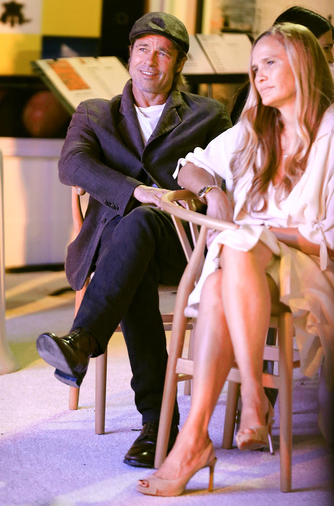 Brad Pitt dating Sat Hari Khalsa