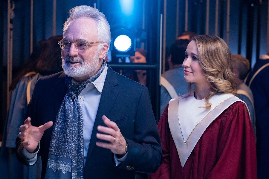 Bradley Whitford as Arthur, Anna Camp as Ginny Perfect Harmony