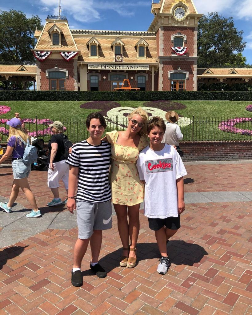 Britney Spears' 'Biggest Fear' Has Always Been Losing Custody of Her Sons
