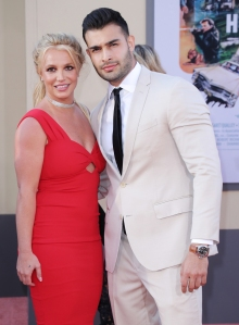 Britney Spears' Boyfriend Sam Asghari Tries to Keep Her 'Levelheaded' Amid Family Drama