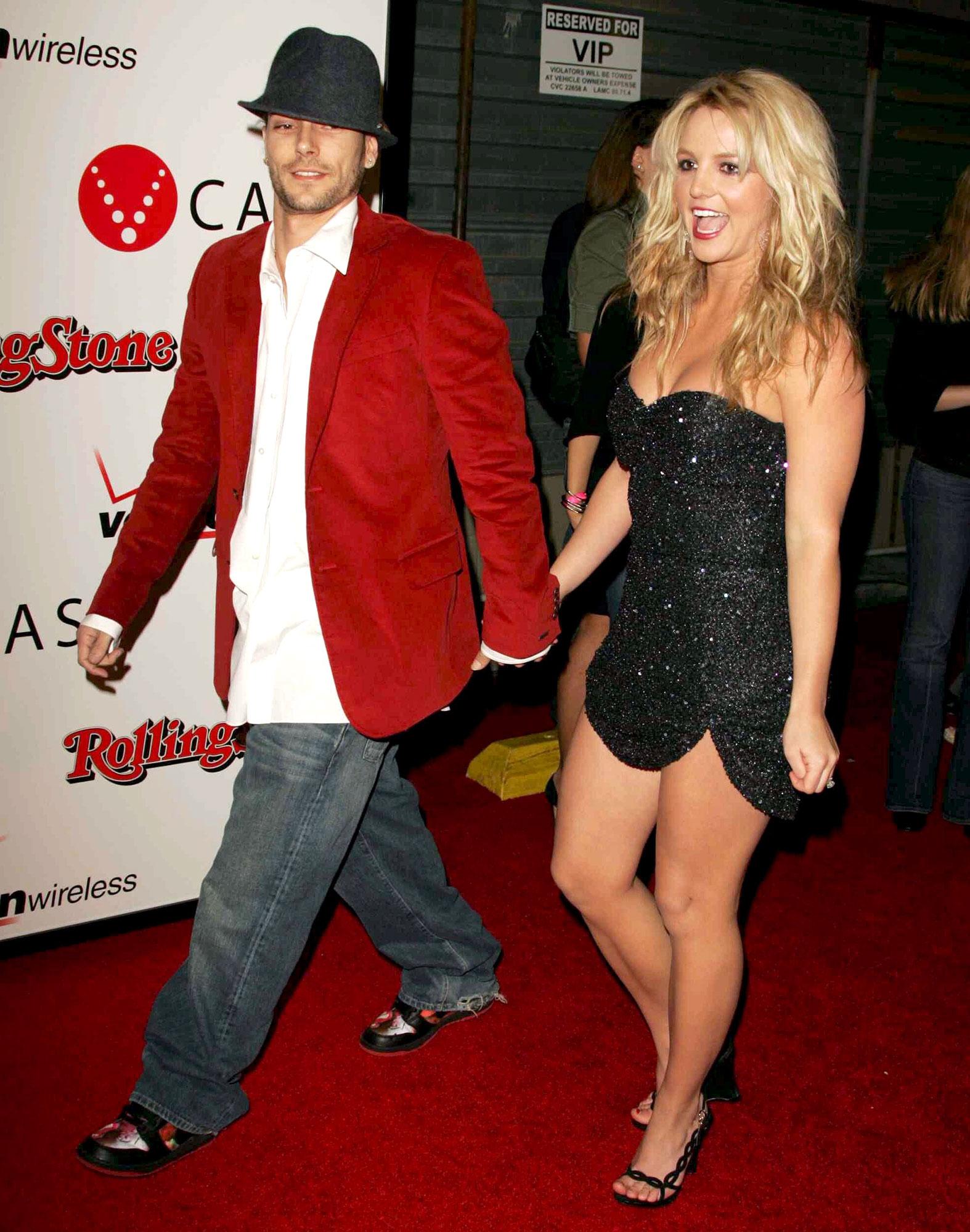 Britney Spears and Kevin Federline Surprise Wedding