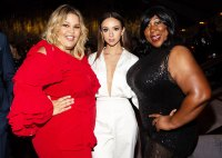 Britney Young Britt Baron and Kia Stevens Netflix Emmys 2019 After Party