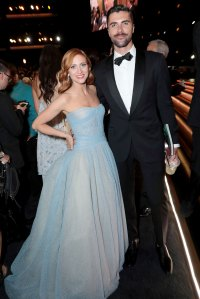 Brittany Snow,Tyler Stanaland What You Didn't See on TV Gallery Emmys 2019